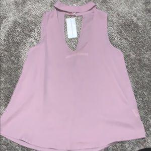 Silky tank top dress top